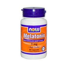 NOW Melatonin 60 капсул