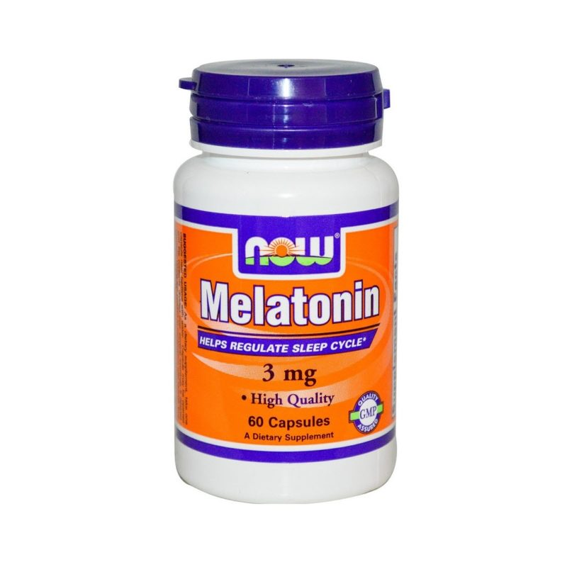 NOW Melatonin 60 капсул