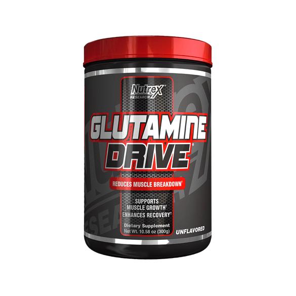 Nutrex Power Glutamine Drive Black 300 гр
