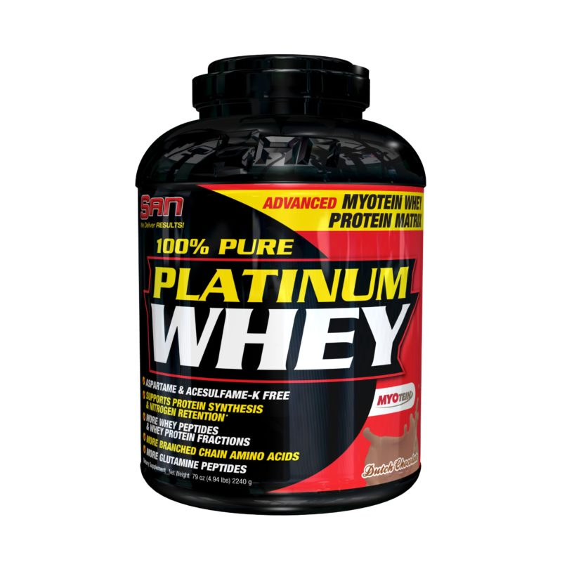 SAN 100% Pure Platinum Whey 2240 гр