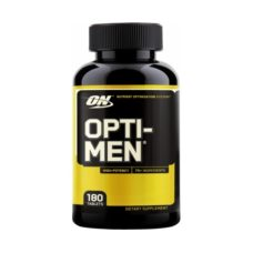 Opti-Men 180 tabs от Optimum Nutrition -лучшие спортивные витамины для мужчин. Купить в интернет-магазине «PROGRESS». Низкая цена + бесплатная доставка