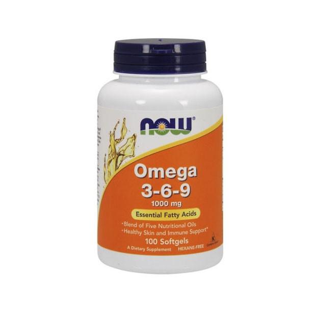 NOW Omega 3-6-9 1000 mg