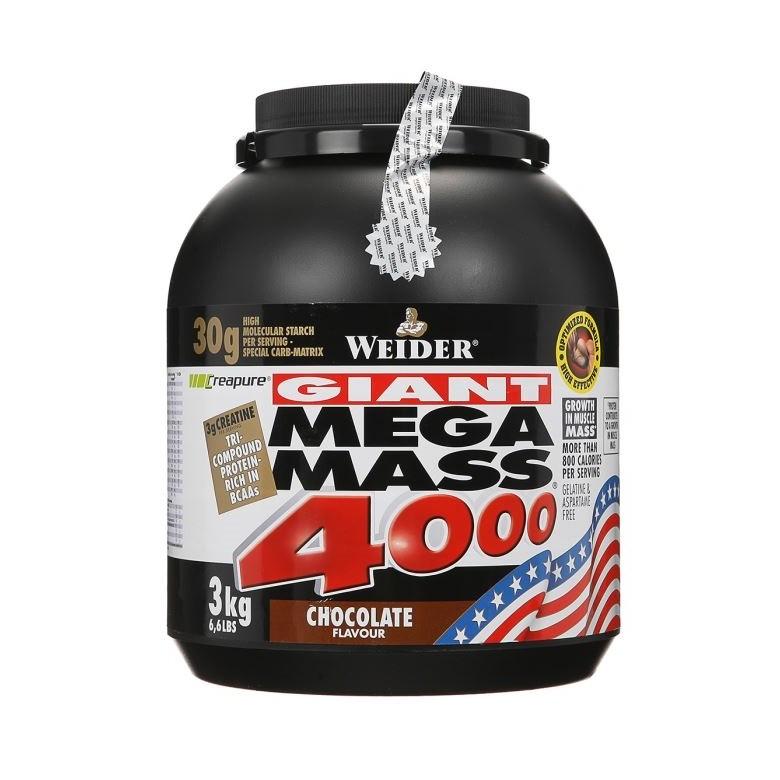 Weider Mega Mass 4000 3 кг
