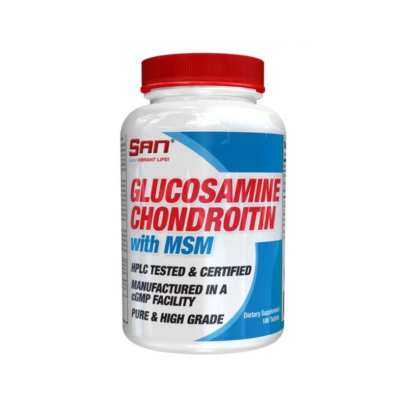 San Glucosamine Chondroitin MSM 180 таб