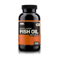 Optimum Nutrition Enteric Coated Fish Oil Softgels