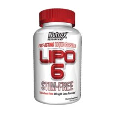 Nutrex Lipo 6 Stim Free 120 капсул