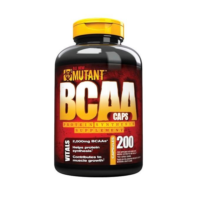 Mutant BCAA Caps 200 капсул