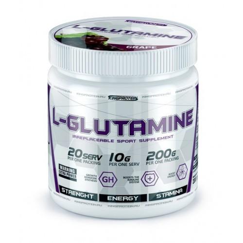 KingProtein L-Glutamine 200 гр