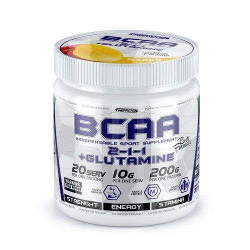 KingProtein BCAA Глютамин