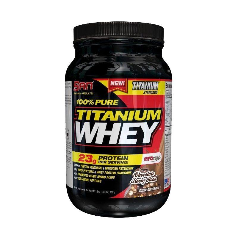 SAN 100% Pure Titanium Whey 900 гр