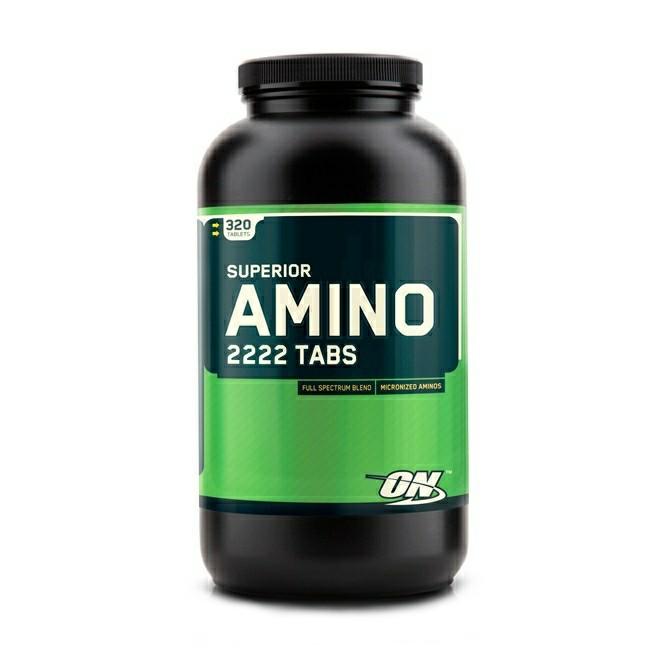 аминокислоты в таблетках / Superior Amino 2222 Tabs 320 таб