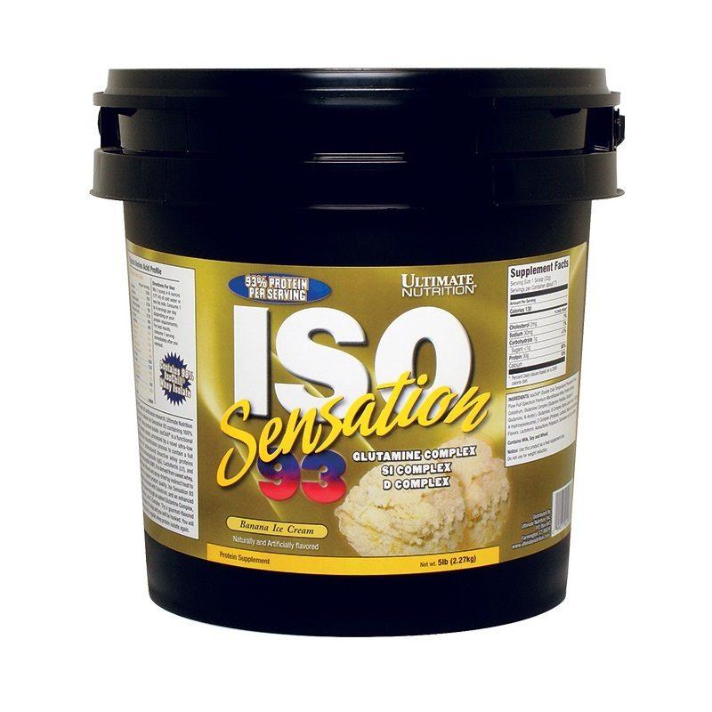 Ultimate Nutrition Iso Sensation 2.27 кг