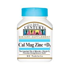 21st Centuty Cal Mag Zinc D3 90 таб