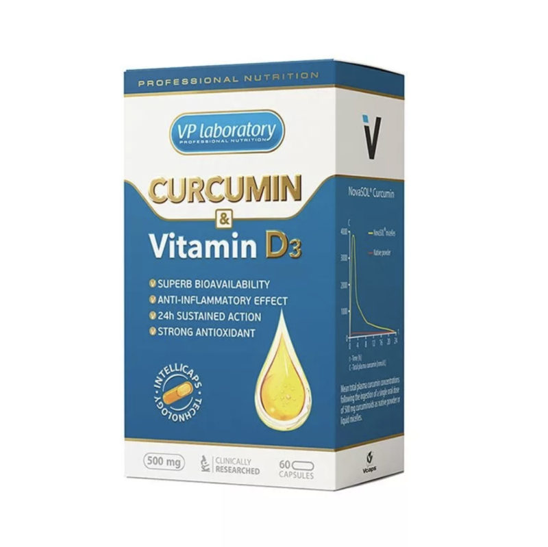 VP Lab Curcumin & Vitamine D3