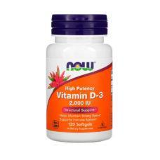 NOW Vitamin D-3 2,000 IU