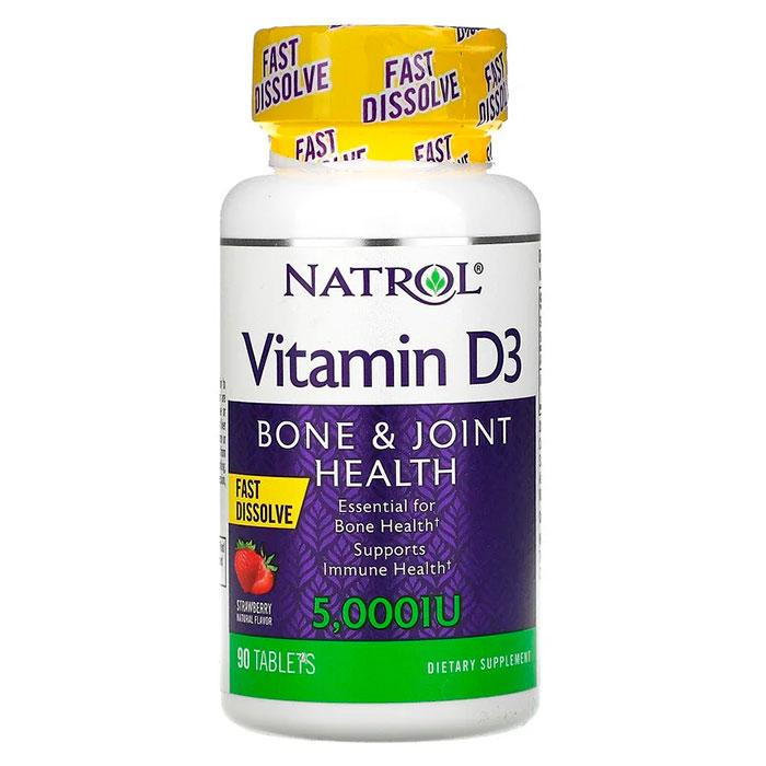Natrol Vitamin D3 5.000 МЕ