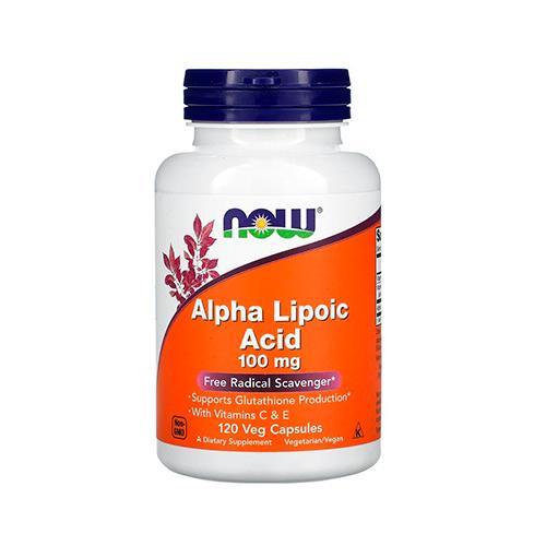 NOW Alpha Lipoic Acid 100mg